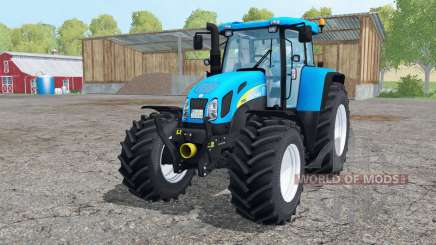 New Holland T7550 interactive control for Farming Simulator 2015