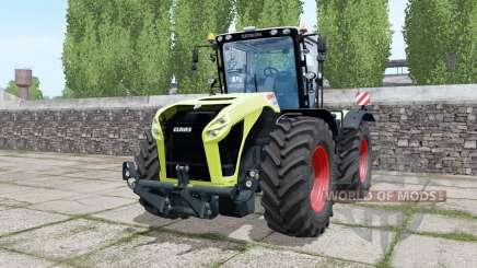Claas Xerion 5000 Trac VC double wheels for Farming Simulator 2017