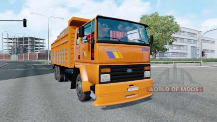 Ford Cargo 2520 v5.1 for Euro Truck Simulator 2