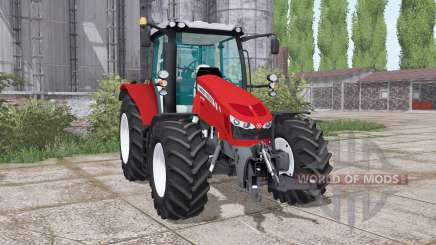 Massey Ferguson 5712 twin wheels for Farming Simulator 2017