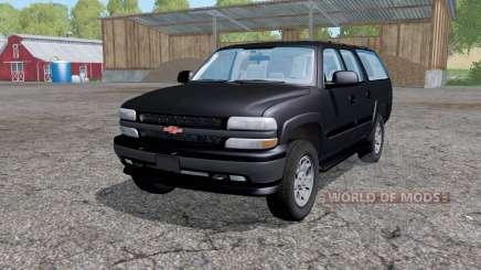 Chevrolet Suburban (GMT800) 2005 for Farming Simulator 2015