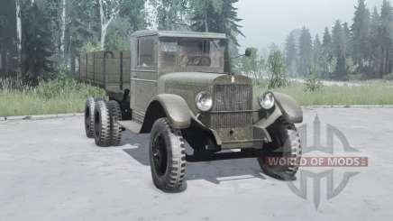 ZiS-6 1933 for MudRunner