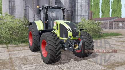 CLAAS Axion 940 interactive control for Farming Simulator 2017