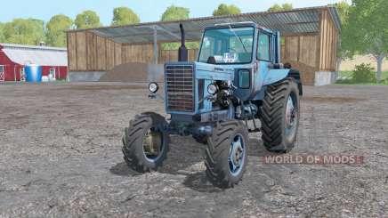 MTZ 82 Belarus ninasimone blue for Farming Simulator 2015