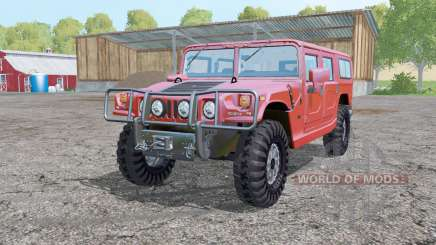 Hummer H1 Alpha wagon 2005 for Farming Simulator 2015