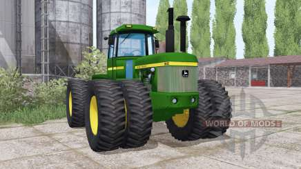 John Deere 8630 twin wheels for Farming Simulator 2017