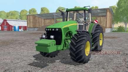 John Deere 8520 wheels weights for Farming Simulator 2015