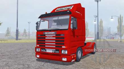 Scania 143M 420 Streamline 1991 for Farming Simulator 2013