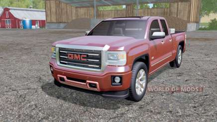 GMC Sierra Double Cab 2014 for Farming Simulator 2015