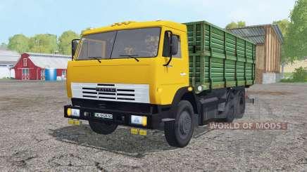 KamAZ 45143 with a trailer for Farming Simulator 2015