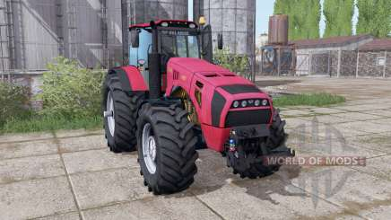 Belarus 4522 dual wheels for Farming Simulator 2017