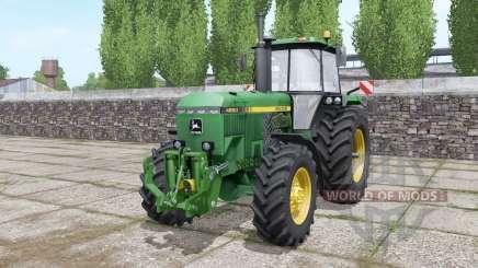 John Deere 4850 configure for Farming Simulator 2017