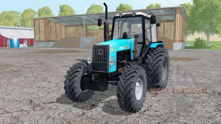 1221В MTZ Belarus tractor with a loader for Farming Simulator 2015