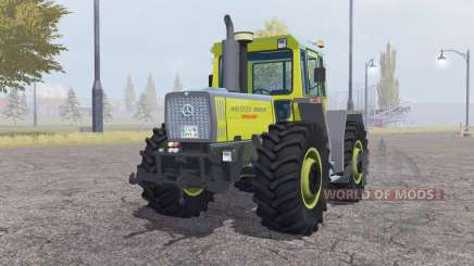 Mercedes-Benz Trac 1800 moderate yellow for Farming Simulator 2013