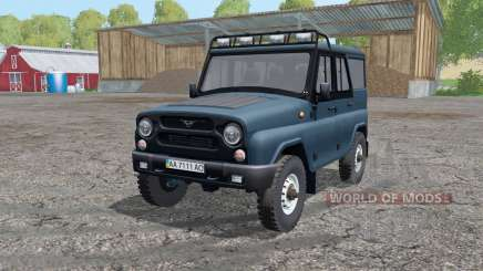 UAZ 315195 hunter animation parts for Farming Simulator 2015