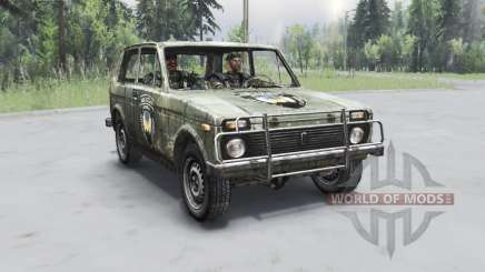 VAZ 2121 S. T. A. L. K. E. R. for Spin Tires
