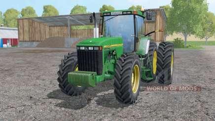 John Deere 8400 double wheels for Farming Simulator 2015