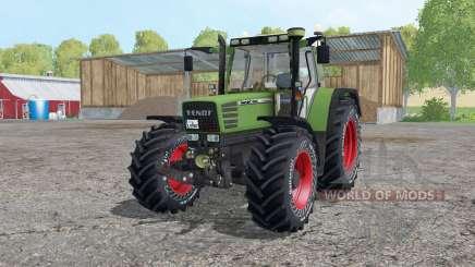 Fendt Favorit 515C Continental tyres for Farming Simulator 2015