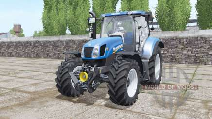 New Holland T6.155 Tier 4A for Farming Simulator 2017