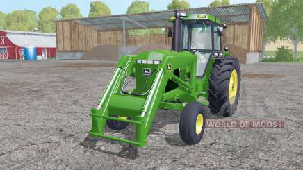John Deere 4455 front loader for Farming Simulator 2015