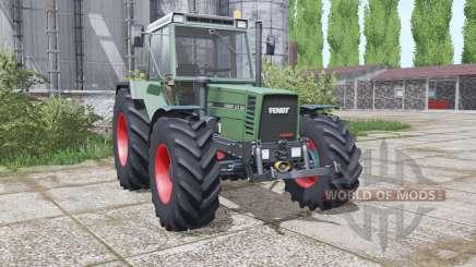 Fendt Favorit 615 LSA interactive control for Farming Simulator 2017