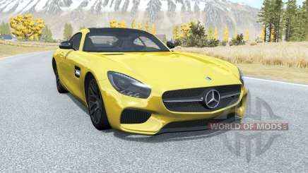 Mercedes-AMG GT coupe (C190) 2014 for BeamNG Drive