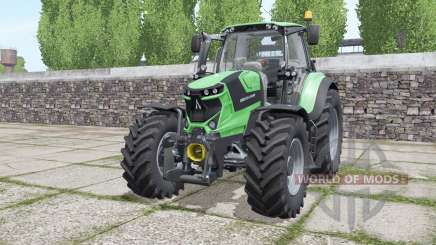 Deutz-Fahr Agrotron 6185 TTV interactive control for Farming Simulator 2017