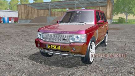 Land Rover Range Rover Supercharged (L322) 2005 for Farming Simulator 2015