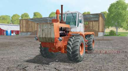 T-150K soft-orange for Farming Simulator 2015