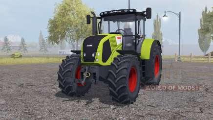 Claas Axion 850 add weights for Farming Simulator 2013