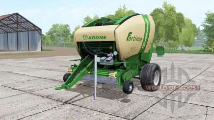Krone Fortima V 1500 green for Farming Simulator 2017