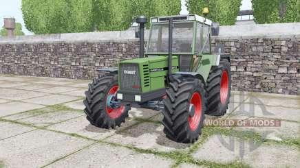 Fendt Favorit 612 LSA Turbomatik E configure for Farming Simulator 2017