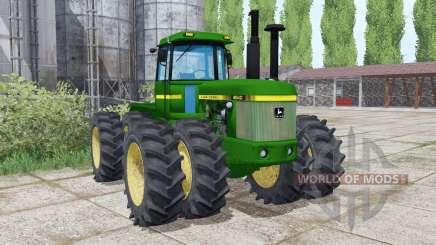 John Deere 8640 twin wheels for Farming Simulator 2017