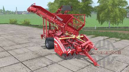 Grimme Rootster 604 increased capacity for Farming Simulator 2017