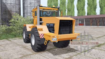 Kirovets K-701 is a soft orange for Farming Simulator 2017