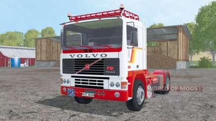 Volvo F12 with semitrailers for Farming Simulator 2015
