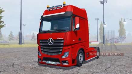 Mercedes-Benz Actros (MP4) v2.0 for Farming Simulator 2013