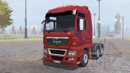 MAN TGX 6x6 v1.1 for Farming Simulator 2013