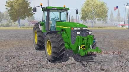 John Deere 8400 animation parts for Farming Simulator 2013