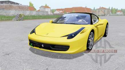Ferrari 458 Italia 2009 for Farming Simulator 2017