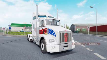Kenworth T800 AeroCab v1.7 for Euro Truck Simulator 2