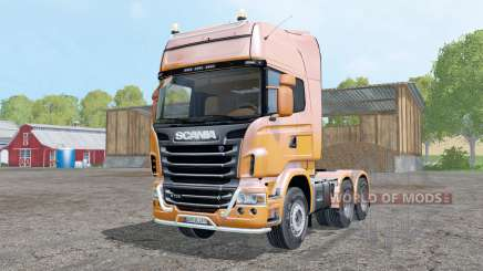 Scania R730 V8 Topline for Farming Simulator 2015