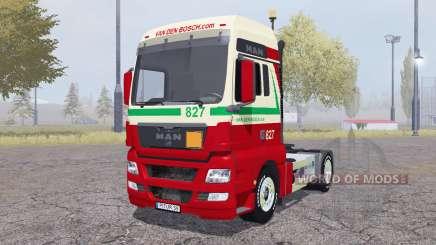MAN TGX 4x4 Van den Bosch v2.0 for Farming Simulator 2013
