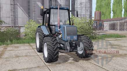 Belarus 826-mount loader for Farming Simulator 2017