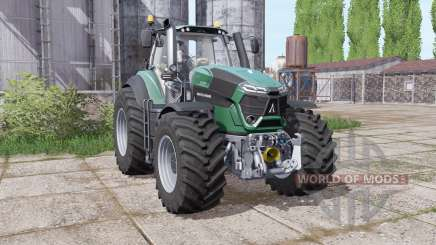Deutz-Fahr Agrotron 9290 TTV powerful engine for Farming Simulator 2017