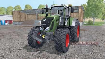Fendt 822 Vario twin wheels for Farming Simulator 2015