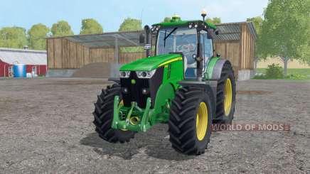 John Deere 7280R twin wheels for Farming Simulator 2015