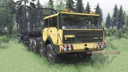 Tatra T813 TP 8x8 1967 v1.4.1 for Spin Tires