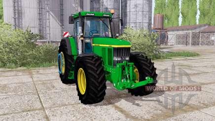John Deere 7710 dual rear for Farming Simulator 2017