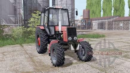 MTZ Belarus 82.1 animation parts for Farming Simulator 2017